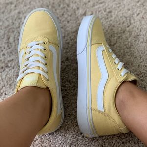 Yellow Classic Vans